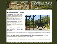 Cook's Ranch gated luxury residential community, Tyler, Texas
