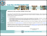 Lone Star Airdale Terrier Club